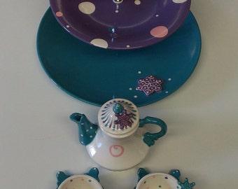 childs custom / personalized frozen tea Set
