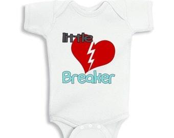 Little Heart Breaker Baby Bodysuit or Toddler Shirt