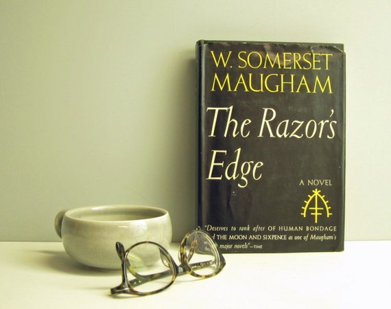 a summary and analysis of the film the razors edge based on the novel written by w sommeret maugham The sharp edge of a razor is difficult to pass over thus the wise say the path to salvation is hard like maugham, isherwood would invent a famous narrator (i am a camera) and journey to india to meet a holy man unlike maugham, he went beyond using india for fictional inspiration and studied hindu texts and philosophy with a swami.