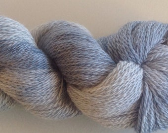 Hand-dyed Blue-faced Leicester sock yarn