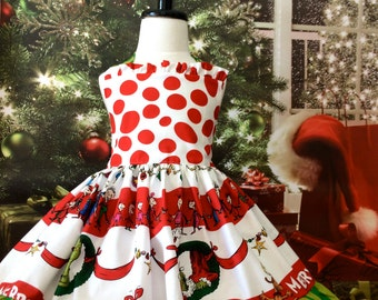 The Grinch Who Stole Christmas girls Seuss dress
