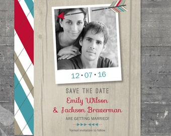 Lovestruck Save the Date - Printable