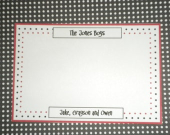 Kids Personalized Cards