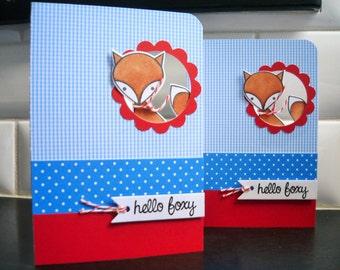 Valentine's Day Card, Fox Love Card, Fox Card, Card for Boyfriend, Card for Husband, Fox Anniversary Card