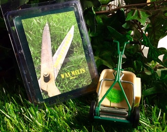 Fresh Cut Grass Scented Handmade Soy Wax Melts