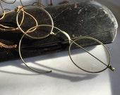 Antique Metal Rim Specticles