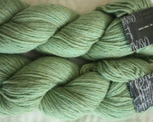 Cascade 220 Heather wool yarn. Celery color.  2 matching skeins NWT