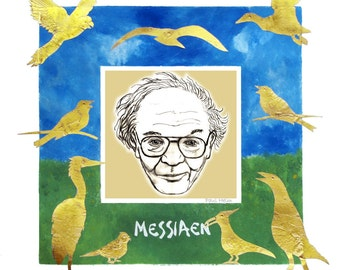 Messiaen print or greetings cards