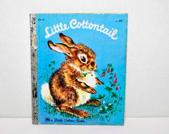 Little Cottontail - A  Little Golden Book -1960 -