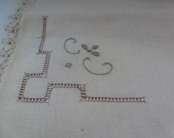 Vintage Linen Napkins 6 Vintage Napkins 4 Crocheted Napkins Vintage Serving