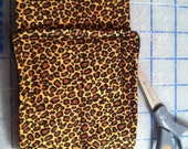 All sizes -- Male dog belly band -- Brown Leopard print -- BASIC or COMFORT FIT -- dog wrap diaper