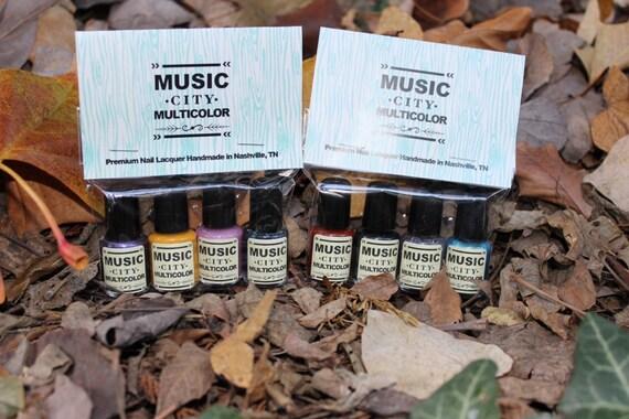 Music City Multicolor Nashville Inspired Nail Polish Packs
