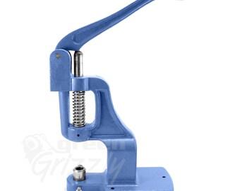 Universal hand press machine for rivets, press fasteners and button making AWA