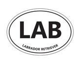 LAB sticker.