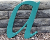 Reclaimed vintage letter a - 16 inch