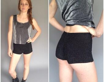 90s Club Kid Cyber Fuzzy Short Shorts Hot Pants