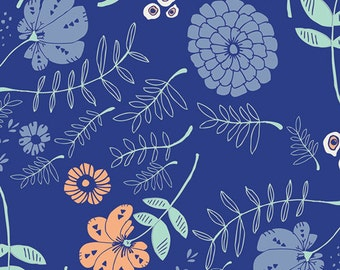 Tule Meadow Vale in Bright, Leah Duncan, Art Gallery Fabrics, 100% Cotton Fabric, TL-30028