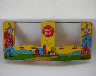 GAME, Vintage Ohio Art Tin Litho Whirli Bird Game