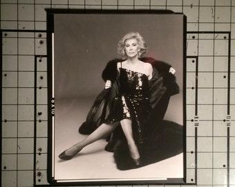 Joan Rivers looking super fabulous 8x10  silver gelatin print