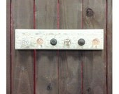 Jewelry Rack -  6 knob - Jewelry Organizer - Holder - scarf or hair clip Organizer