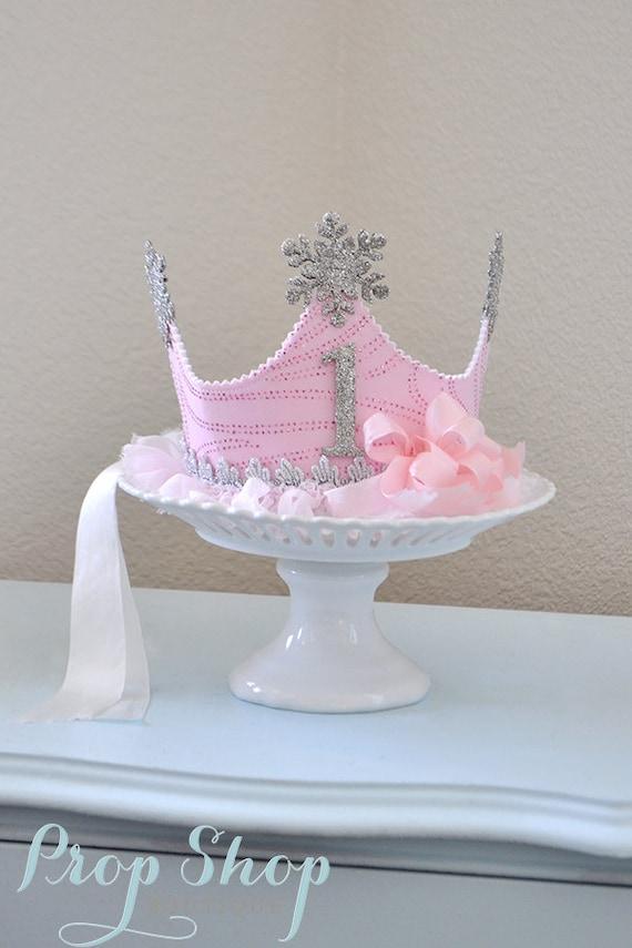 Snow Princess Winter Wonderland Snowflake Crown, Birthday Crown