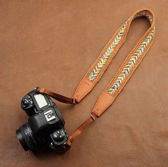 20 off personalized vintage camera strap nikon by dokkipaper
