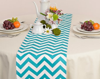 Chevron table cloth etsy for Decoration quadrilobe