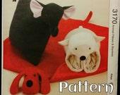 Animal Blanket & Pillow Pattern Kwik Sew 3170