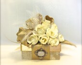 Truffle Favor Box,  Wedding, Gift Box, Favors, Jewelry, Mothers Day, Christmas, Bridesmaids, Handmade, Decorative Boxes, Baby gift