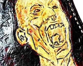 Zombie Apocalypse! Zombie Wallet - Zombie Gifts - Zombie Art - Zombie Survival - Undead - Walking Dead. Holds 8 credit cards,Has 1 bill slot