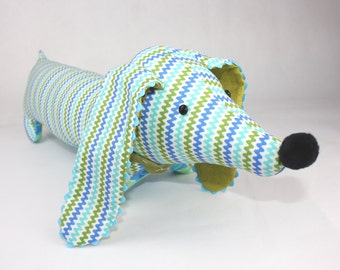 Soft dog toy, Dachshund plush, RIC RAC