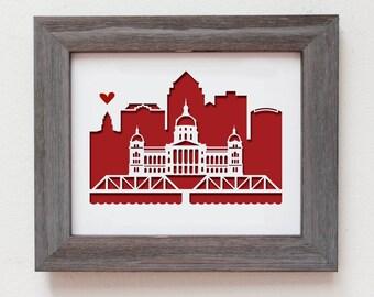 Des Moines, Iowa -  Capitol Building