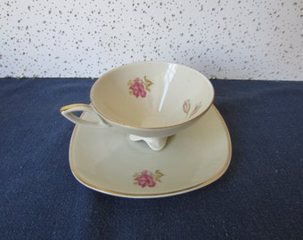 Fine China Cup and Saucer from Bavaria Germany