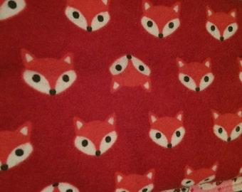 Fox Receiving Blanket