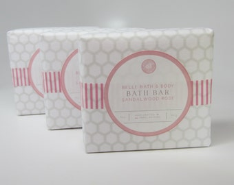 Natural Butter Bath Bar Handmade Bath and Beauty Body Bar