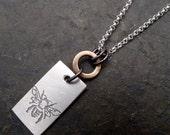Mali Necklace ~ Small ~ Bee / Tree