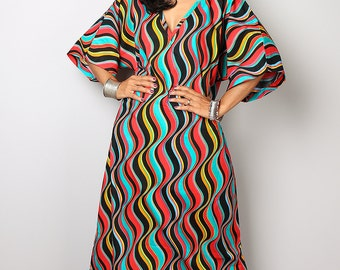 Caftan Dress / Maxi Dress / African Dress : Bohemian Kaftan Collection no. 3