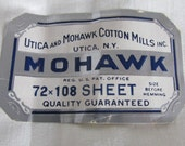 """Vintage 2 Twin Flat Mohawk Sheets 72"""" x 108""""  New with Tags, Vintage Bedding, Vintage Mohawk Linens, Vintage Linens, Vintage NOS"""
