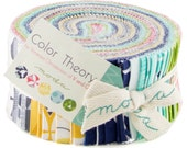 Color Theory - Jelly Roll by V and Co. from Moda