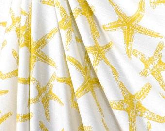 Shower Curtain Lemon Yellow Starfish Yellow Nautical Print Shower Curtain  Size Custom Size Shower CurtainPrint shower curtain   Etsy. Blue And Yellow Shower Curtain. Home Design Ideas