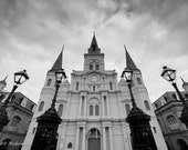 St Louis Cathedral, New Orleans, Louisiana, Jackson Square, French Quarter, Architecture Photography