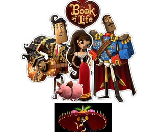 The Book of Life PRINTABLE Centerpiece