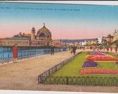 Nice, France, La Promenade - Vintage Postcard - Unused (SS)