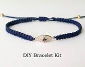 DIY Bracelet Kit - Friendship Bracelet Tutorial
