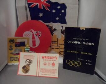 Olympics 1956 Melbourne commemorative Australiana