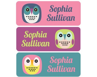 Name Labels, Custom Name Labels, Personalized Name Stickers, Personalized Waterproof Labels, Waterproof Labels, Waterproof Stickers