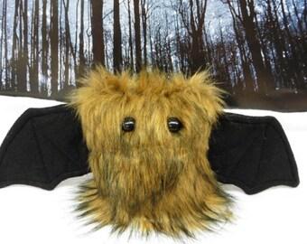 Furrow The Scrappy Bat Stuffed Animal, Plush