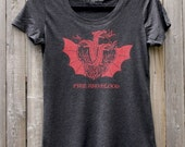 Game of Thrones Targaryen Sigil // Fire And Blood // Women's Scoop Neck Tee