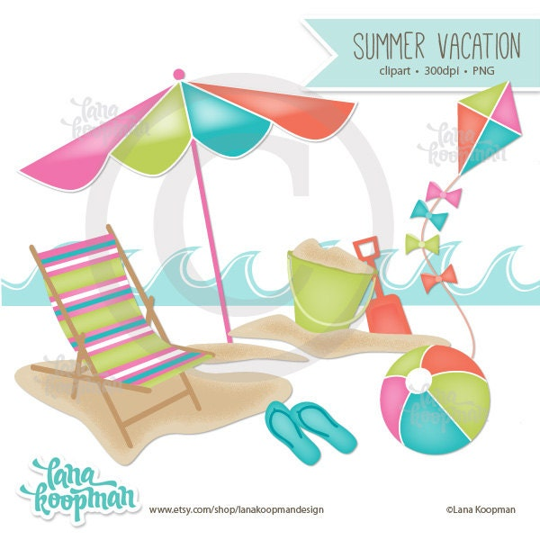 summer vacation clipart - photo #34