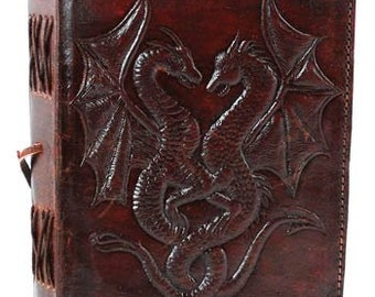 Leather Hand Tooled Book Of Shadows